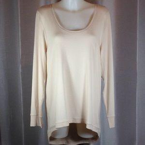 Andrea Jovine hi-lo knit top